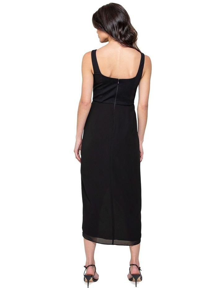 Lottie Square Neck 2 In 1 Midi Dress image 3