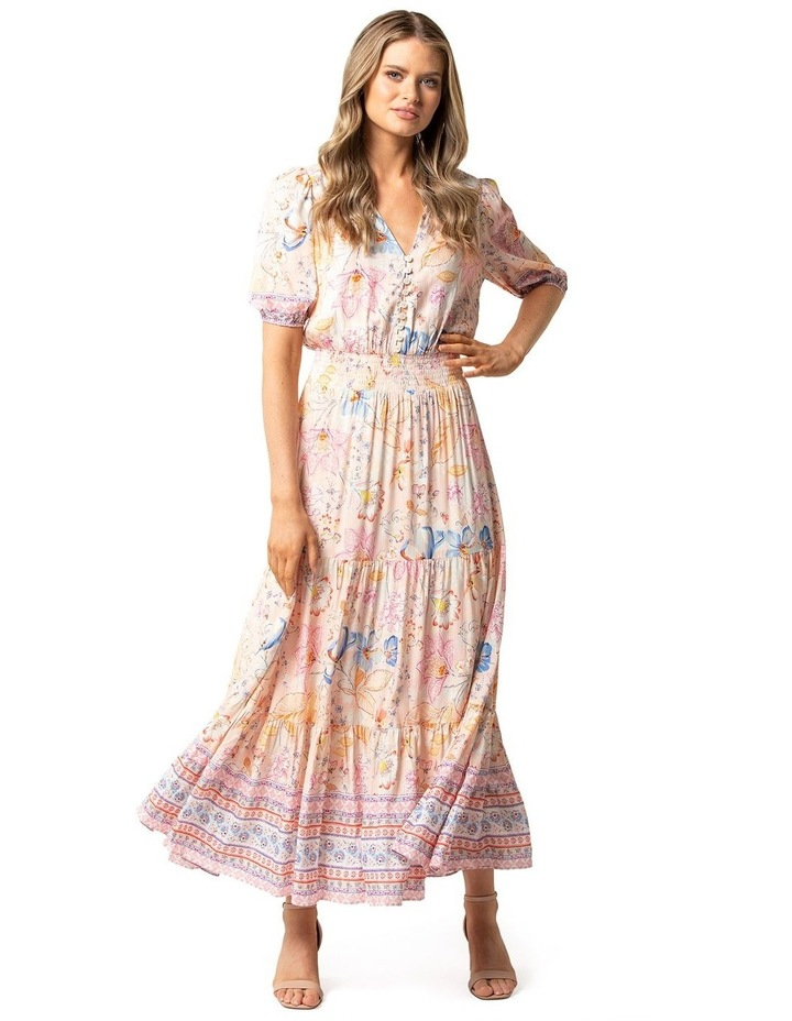 Kalani Tiered Midi Dress image 1