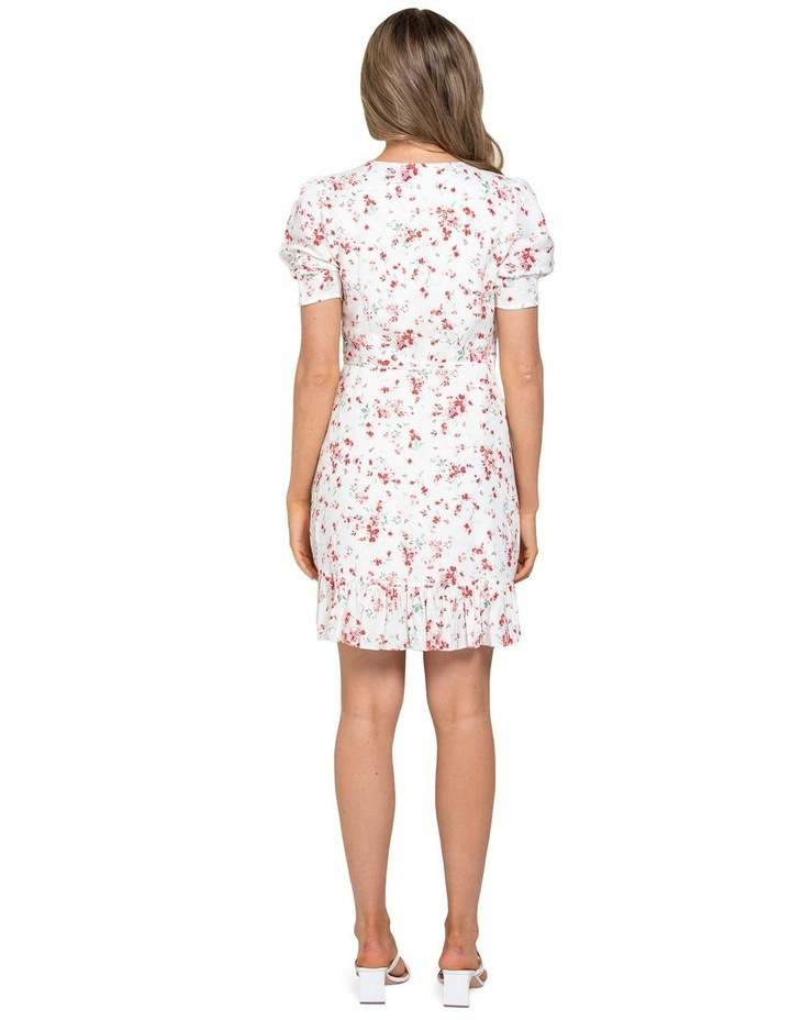 Boston Wrap Linen Mini Dress image 3
