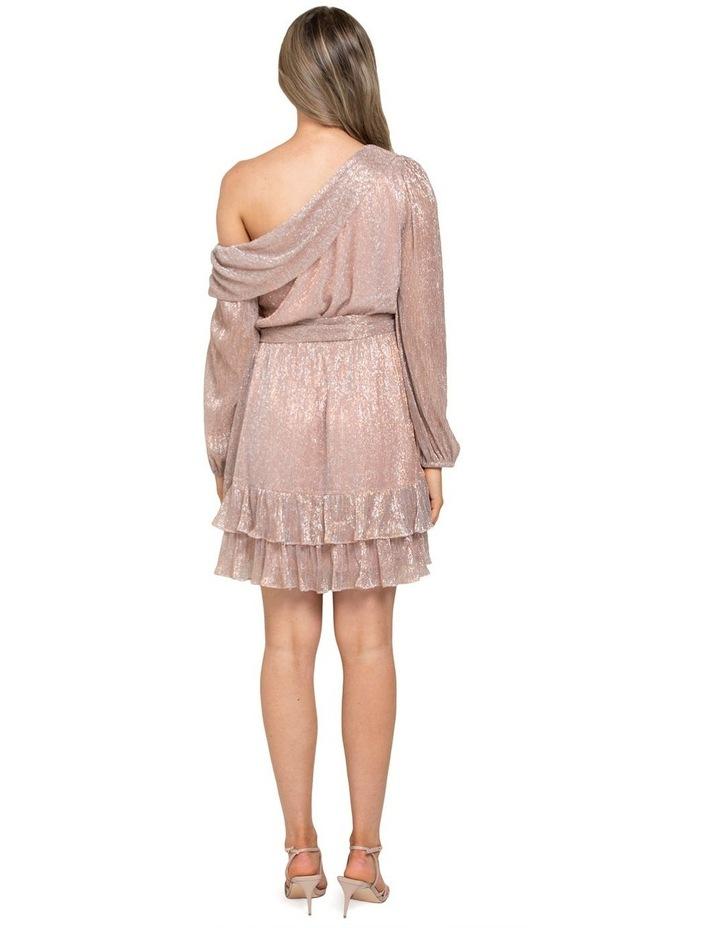 Sarah Plisse Skater Mini Dress image 3