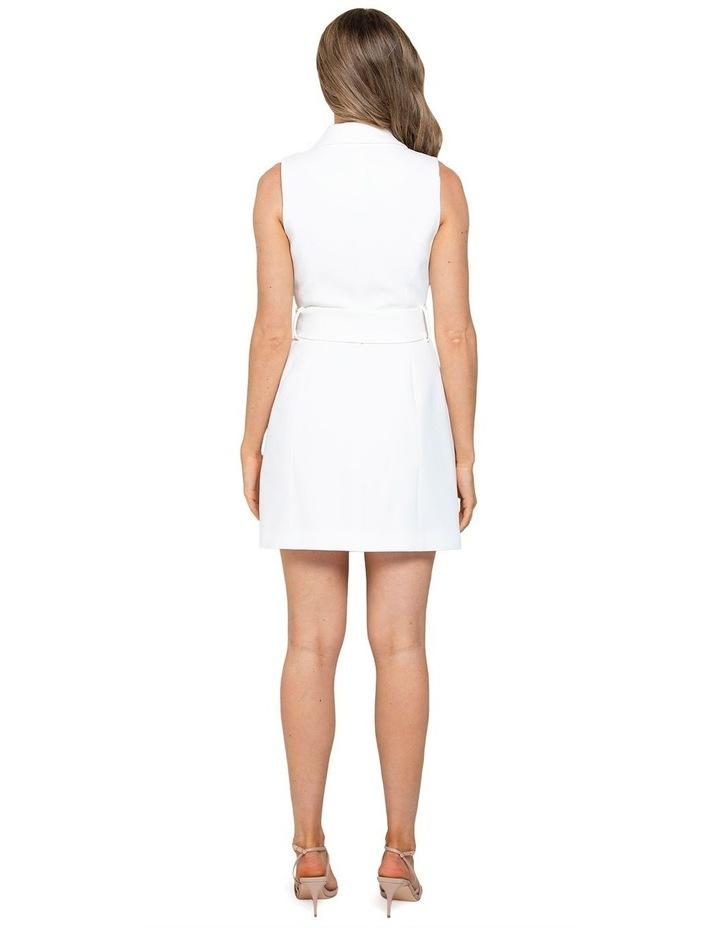 Tessa Sleeveless Blazer Dress image 3