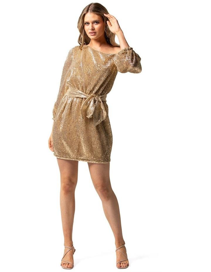 Kaylee One Shoulder Sequin Dress image 1
