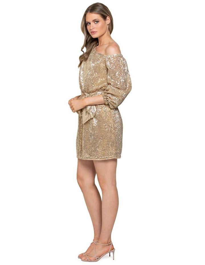 Kaylee One Shoulder Sequin Dress image 2