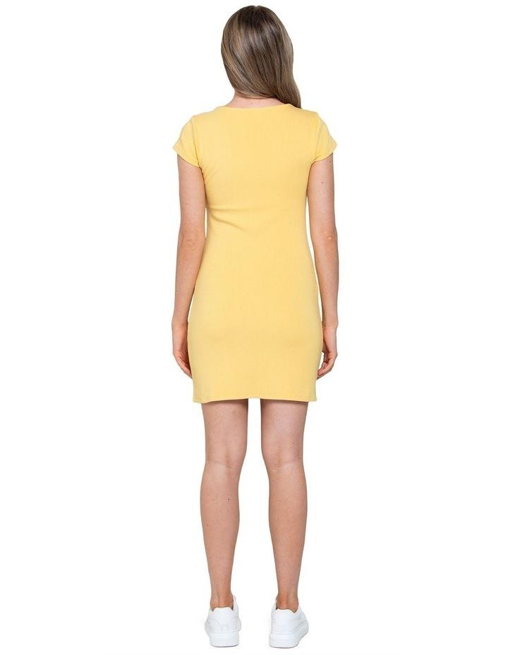 Georgie Square Neck Rib Dress image 3