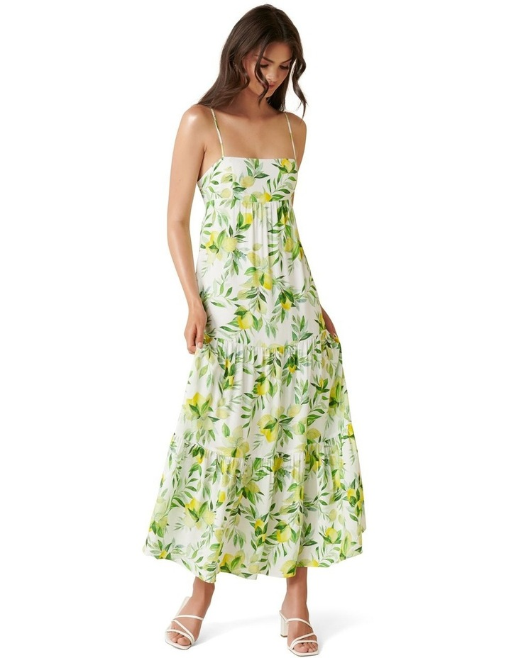 Faith Tiered Midi Dress image 1