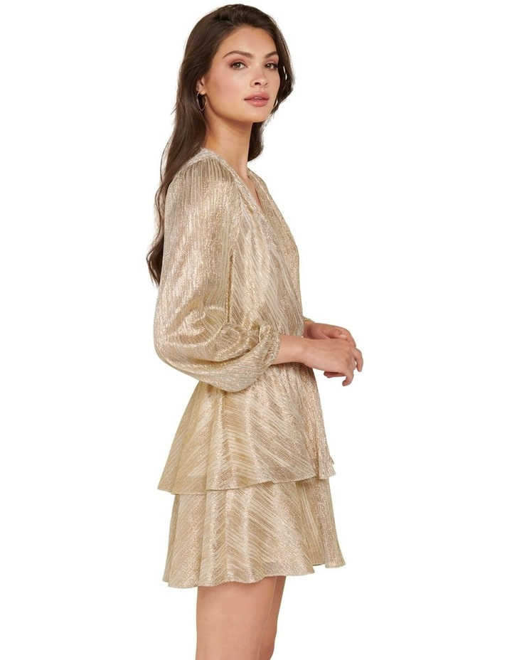 Keira Plisse Tiered Mini Dress image 2