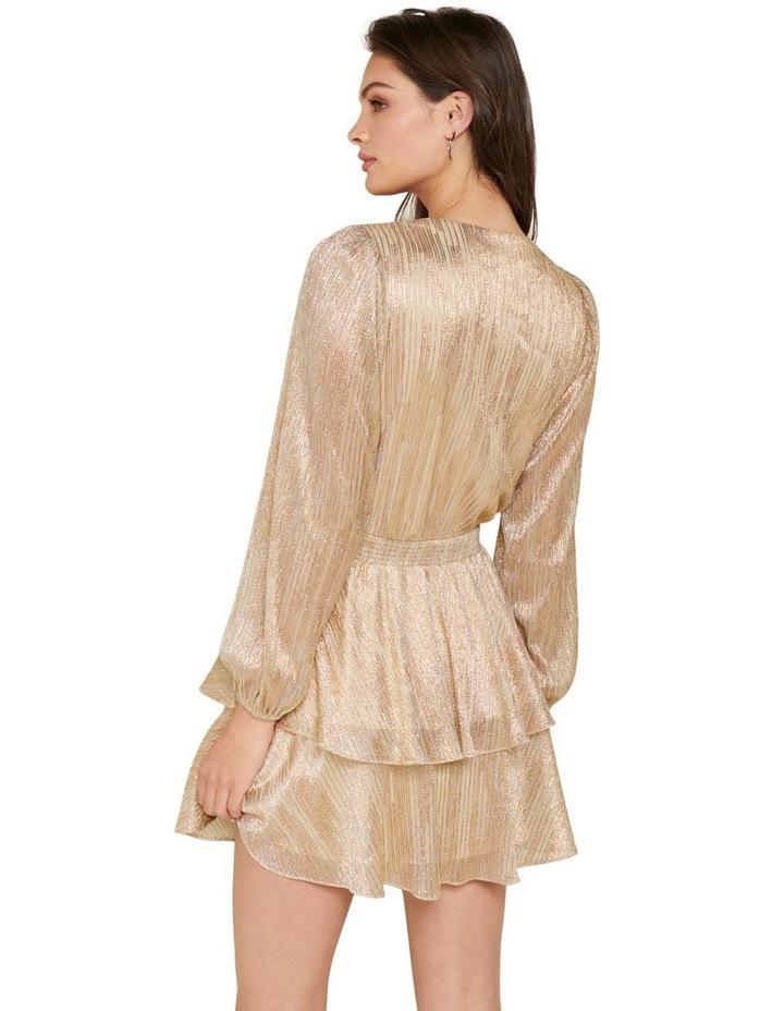 Keira Plisse Tiered Mini Dress image 3