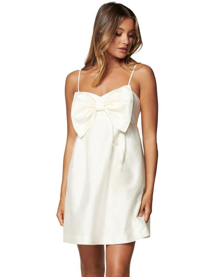 Mckenna Taffeta Strappy Mini Dress image 1