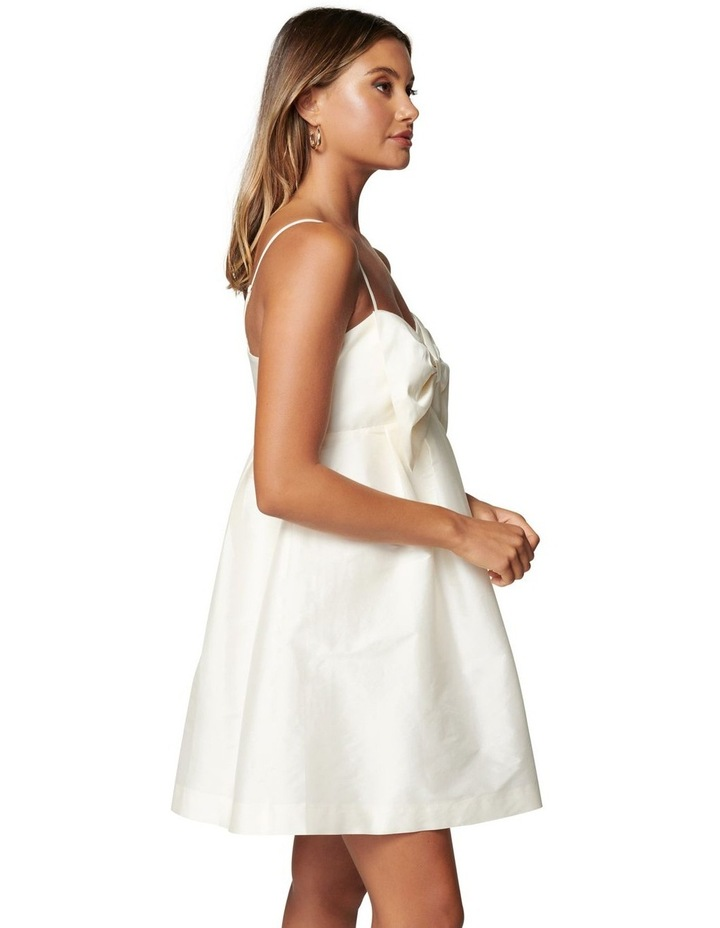 Mckenna Taffeta Strappy Mini Dress image 3