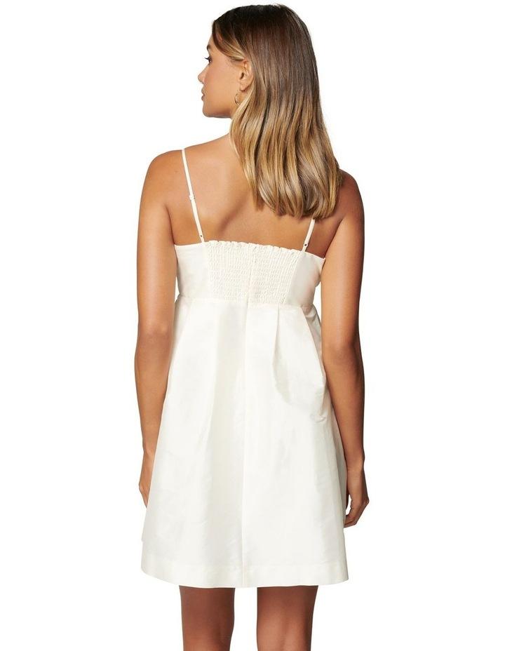 Mckenna Taffeta Strappy Mini Dress image 4