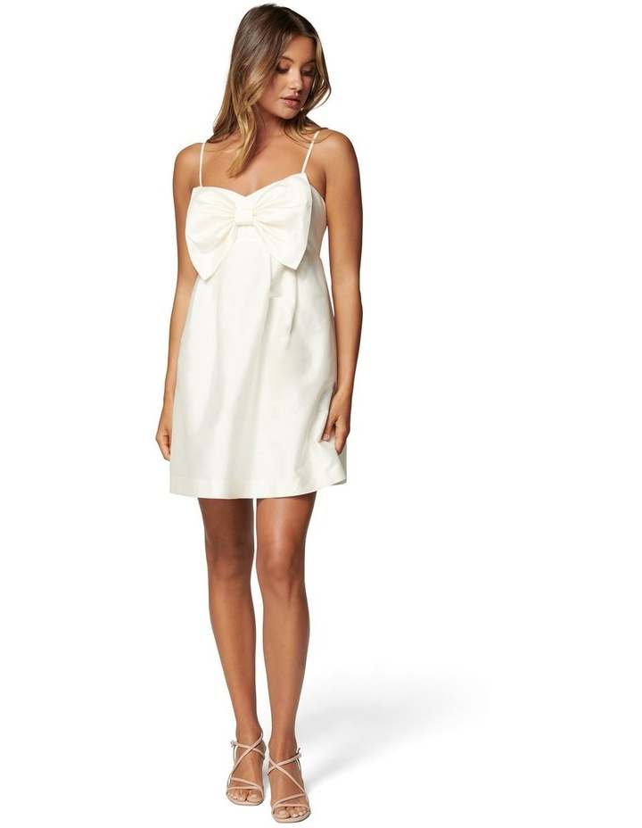 Mckenna Taffeta Strappy Mini Dress image 5