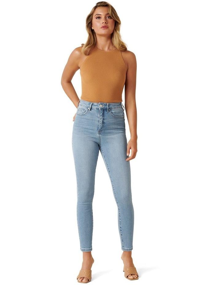 Olivia High Rise Sculpting Crop Jeans image 1
