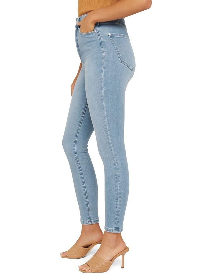 Olivia High Rise Sculpting Crop Jeans image 3