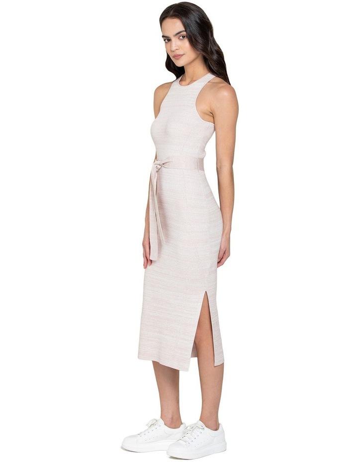 Ivy Racer Column Midi Knit Dress image 2