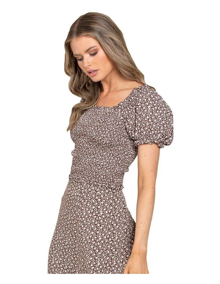 Hayley Petite Puff Shirred Co-ord Top image 2