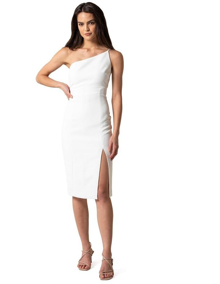 Franca Petite One Shoulder Midi Dress image 1