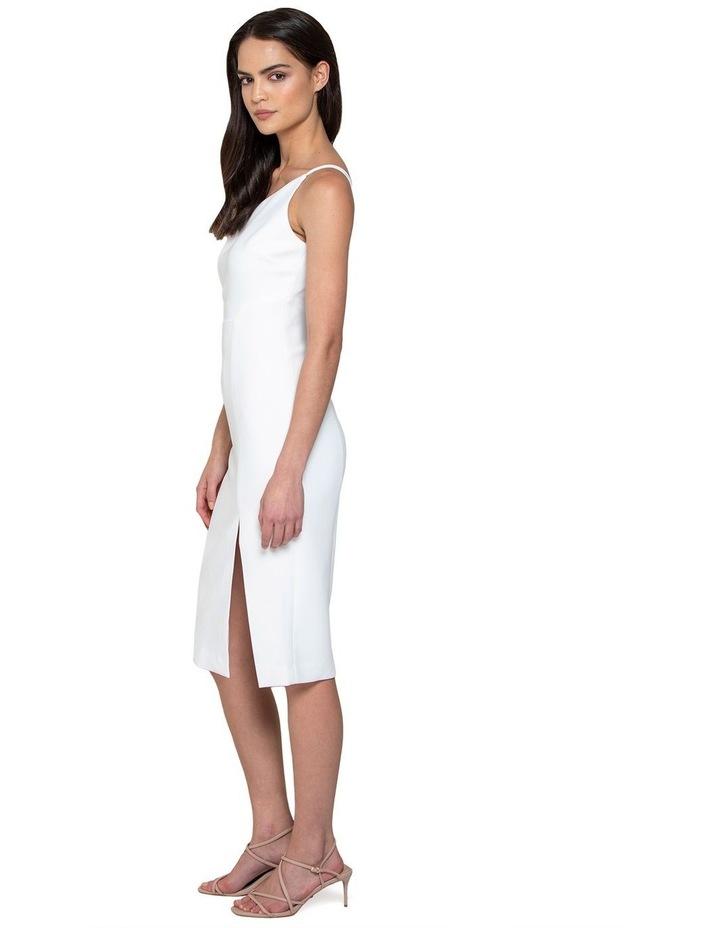 Franca Petite One Shoulder Midi Dress image 2