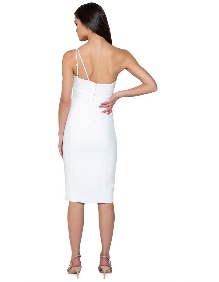 Franca Petite One Shoulder Midi Dress image 3