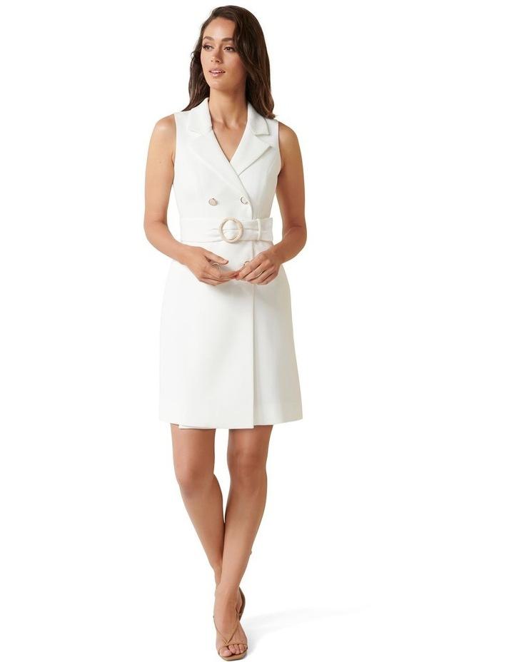 Tessa Petite Sleeveless Blazer Dress image 4