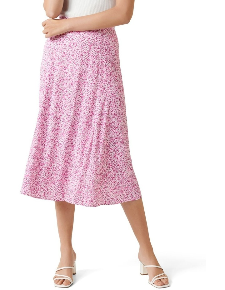 Ellie Petite Split Midi Skirt image 1