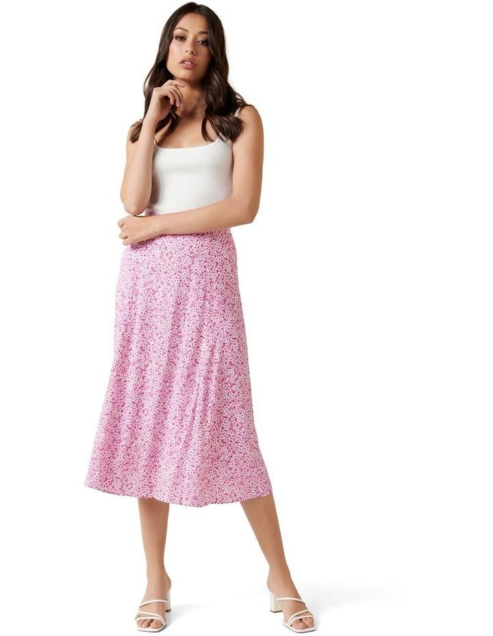Ellie Petite Split Midi Skirt image 5