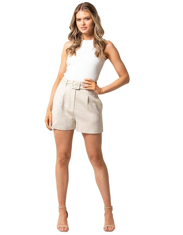 Effie Belted Mini Shorts image 1