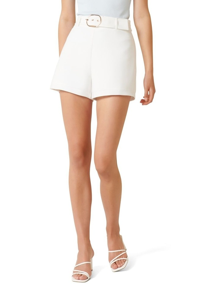Hailey Belted Tailored Shorts image 1