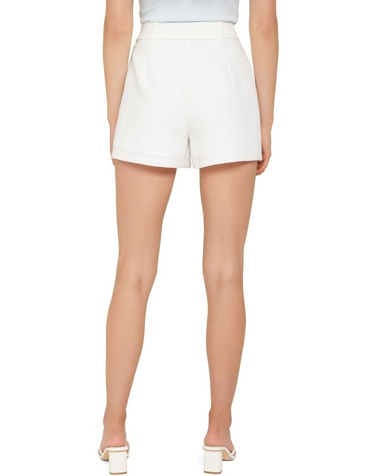 Hailey Belted Tailored Shorts image 3