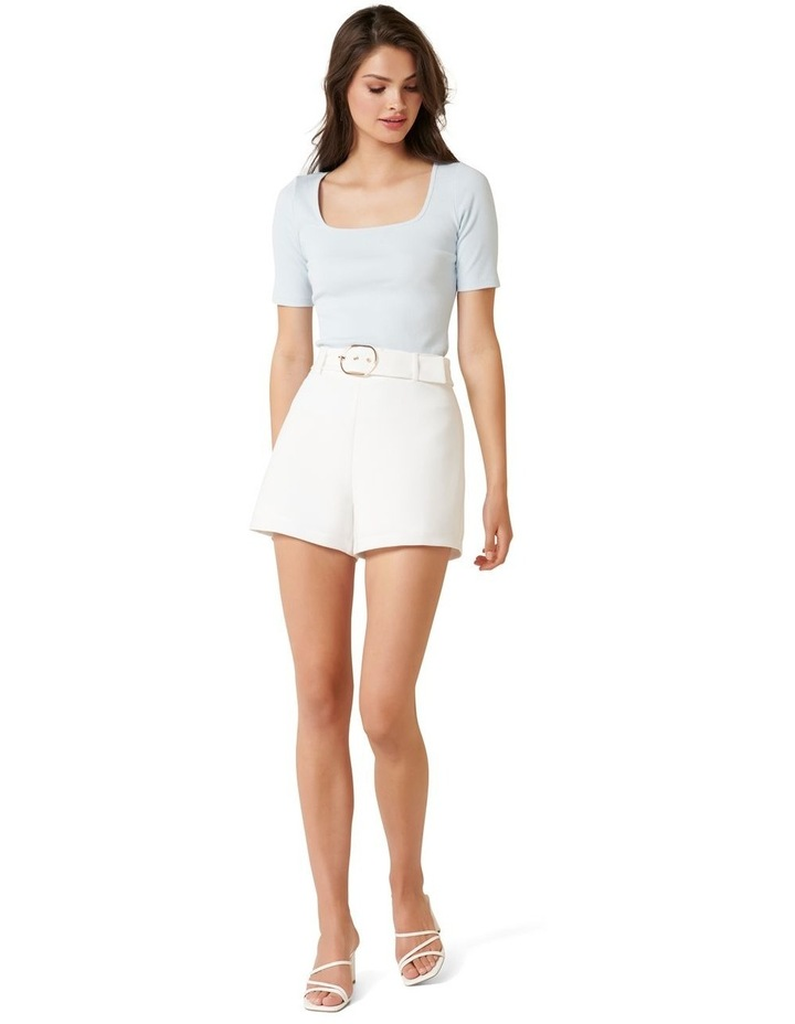 Hailey Belted Tailored Shorts image 4
