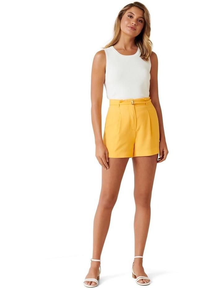 Penelope Belted Tailored Shorts image 4