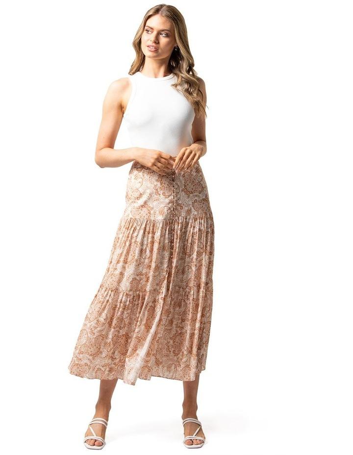 Lilliana Tiered Maxi Skirt image 4