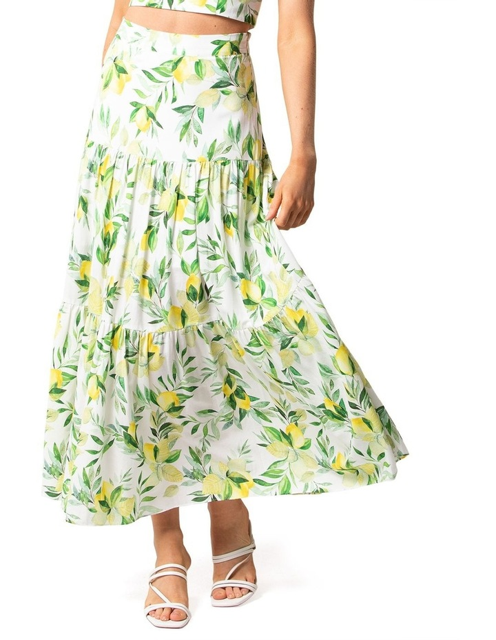 Aria Tiered Maxi Skirt image 1