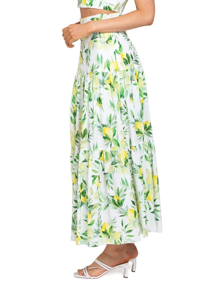Aria Tiered Maxi Skirt image 2