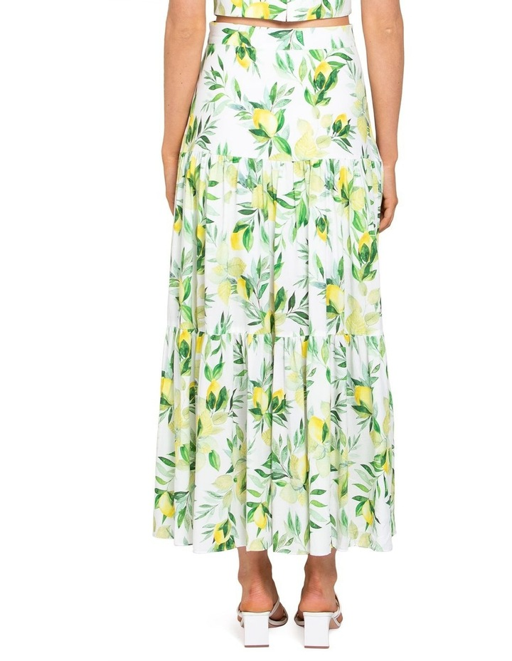 Aria Tiered Maxi Skirt image 3