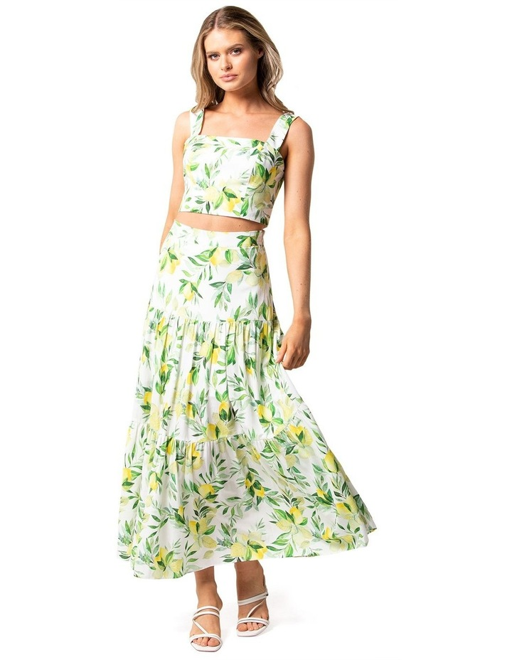 Aria Tiered Maxi Skirt image 4