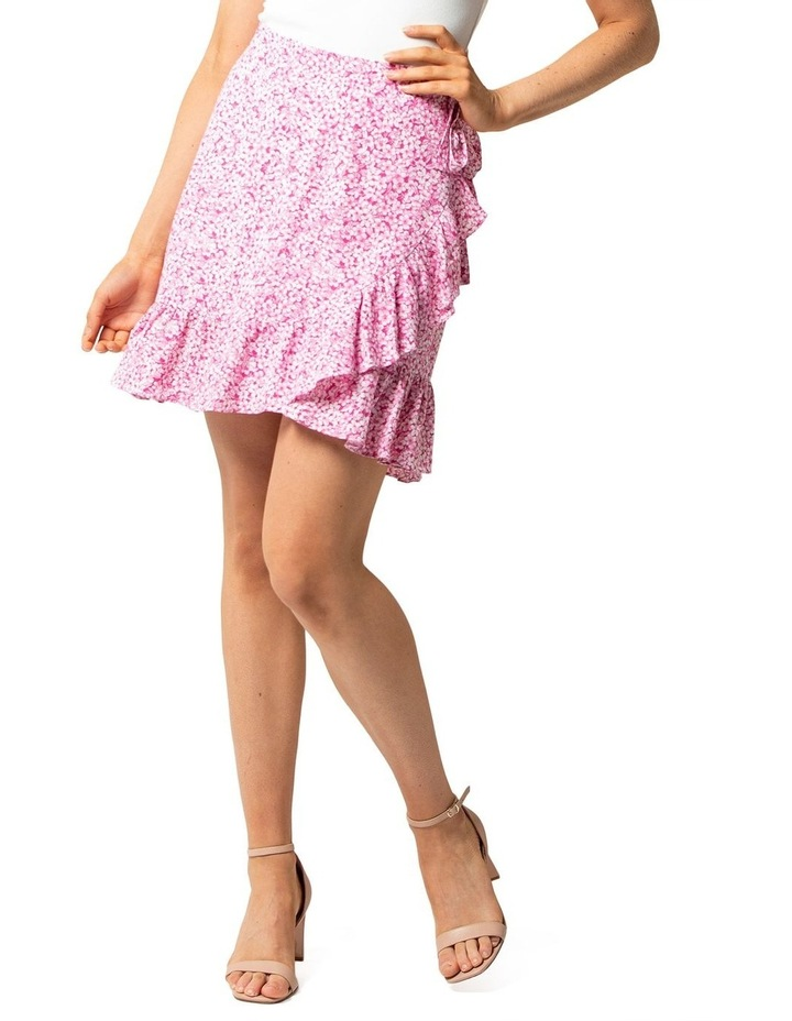 Nala Wrap Linen Mini Skirts image 2