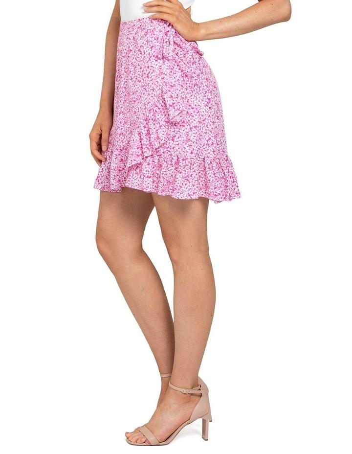Nala Wrap Linen Mini Skirts image 3