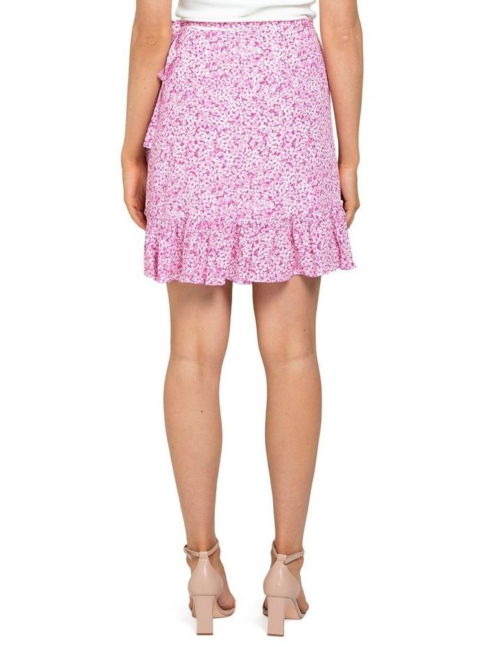 Nala Wrap Linen Mini Skirts image 4