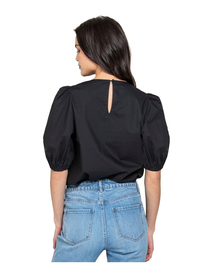 Kelly Cotton Puff Sleeve Blouse image 3