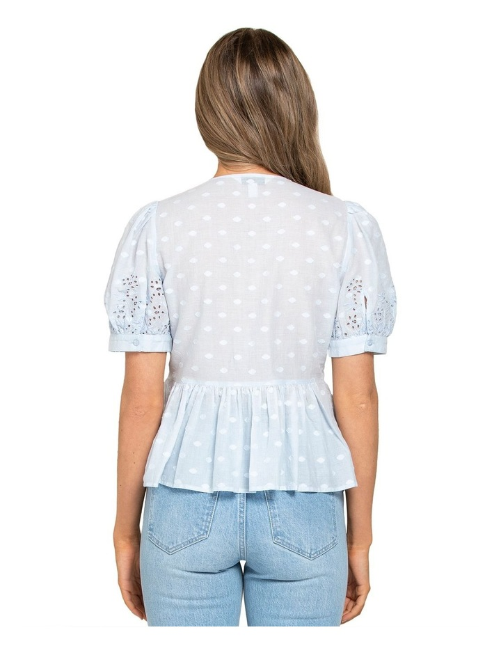 Shirley Broderie Puff Sleeve Blouse image 3
