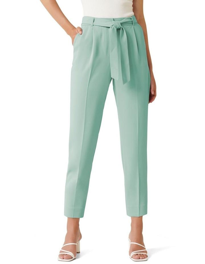 Sadie Petite Tie Waist Slim Pants image 1