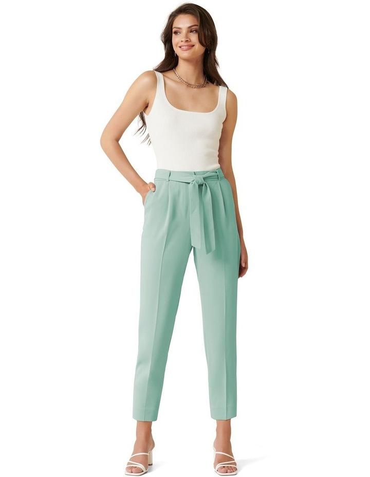 Sadie Petite Tie Waist Slim Pants image 4