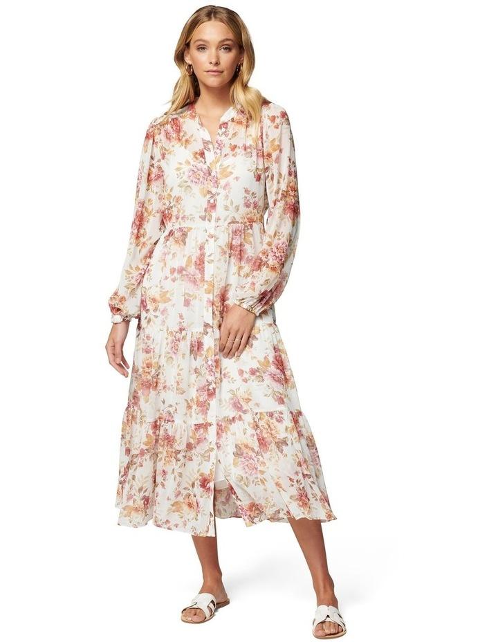 Helen Shirt Midi Dress image 1