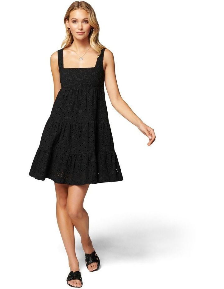 Liberty Broderie Babydoll Dress image 5
