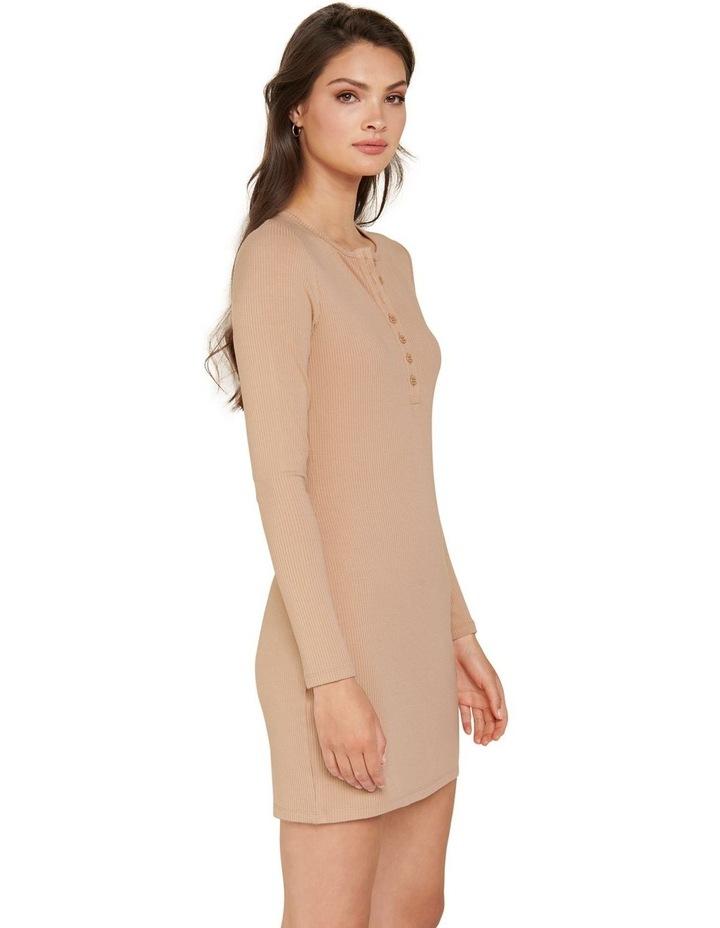 Celeste Rib Button Front Mini Dress image 2