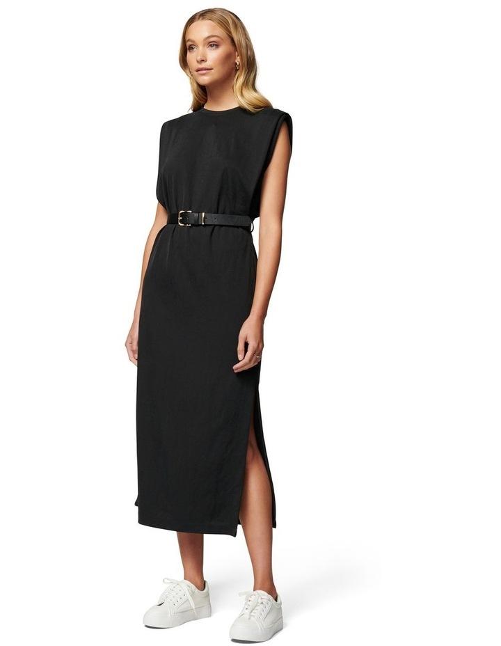 Zoe Extended Shoulder Column Dress image 1