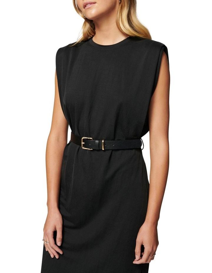 Zoe Extended Shoulder Column Dress image 2