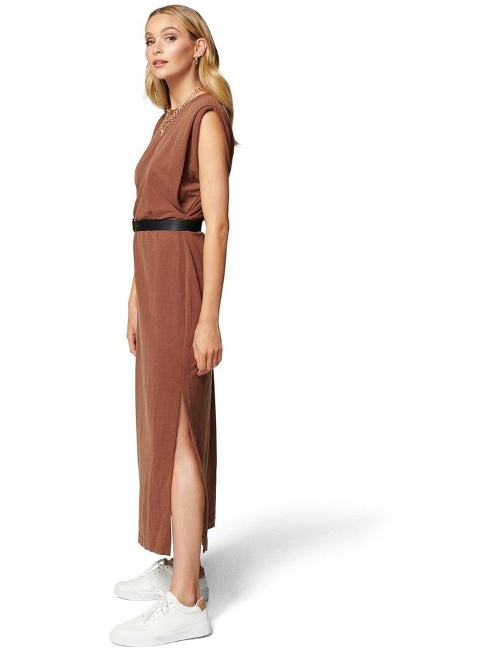 Zoe Extended Shoulder Column Dress image 3