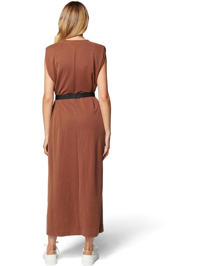 Zoe Extended Shoulder Column Dress image 4