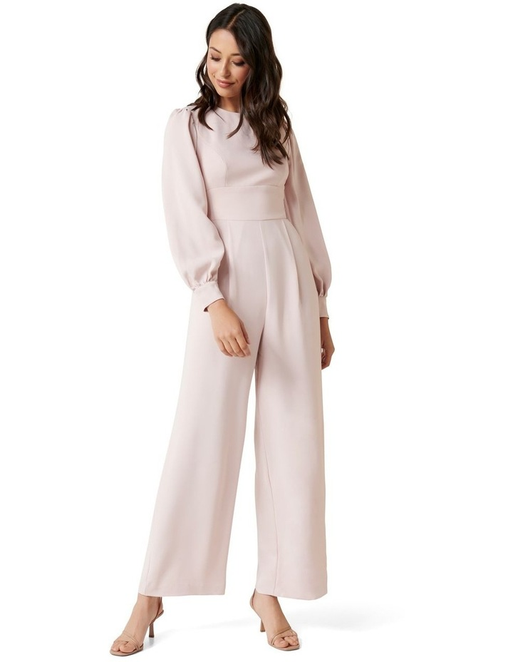 Lucille Long Sleeve Bow Back Jumpsuit image 1